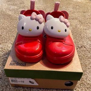 Mini Melissa Hello Kitty Slip-On